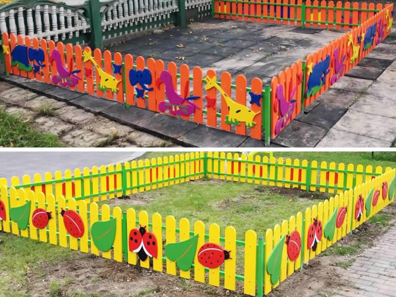 Ограждения детских площадок в ГУЗ ВО «Гусь-Хрустальный дом ребенка специализированный»