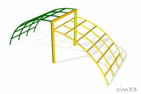 72)Лаз «Мост» ЭЛ006