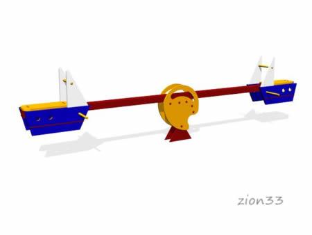 35)Качалка-балансир «Моряк»