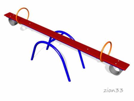 37)Качалка-балансир «Малютка»