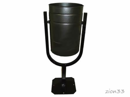 332)Урна металлическая 20 л «К-20»