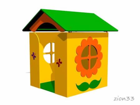 Детский игровой домик «Дача» превью