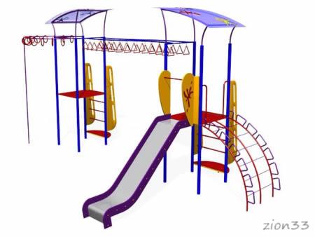 134)Детский игровой комплекс «Сказка»
