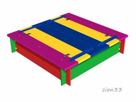 3658)Детская песочница «Оптимус»