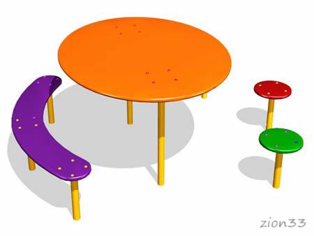 243)Детский столик «Радость»