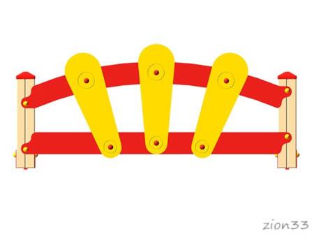 3696)Ограждение детской площадки «Солнышко»