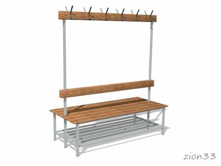 271)Скамейки для раздевалок СВ7