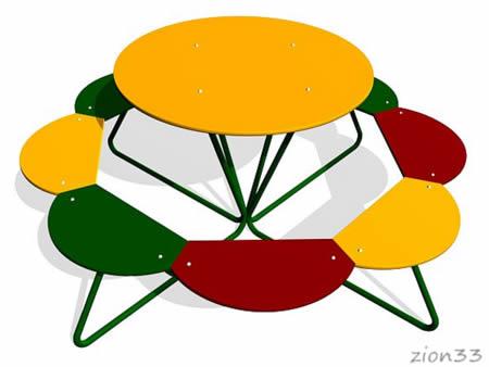 234)Детский столик «Солнышко»