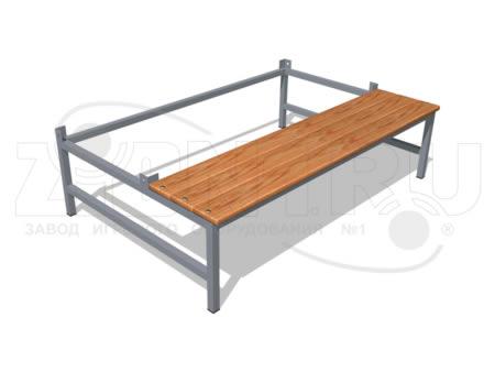 470)Подставка для шкафа 1200.500 со скамьей