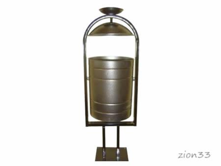 337)Урна металлическая 20 л «ЯСП-20»