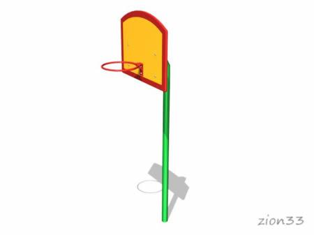 2340)Стойка баскетбольная детская «Малыш»