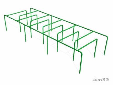 2705)«Лабиринт У» (разборный)