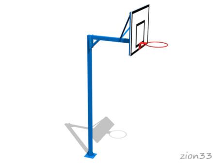 2795)Стойка баскетбольная М1У