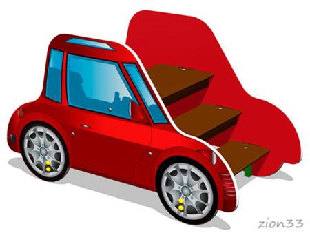 3844)Лаз «Машинка Жук»