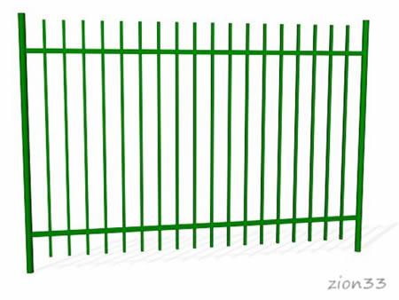 379)Забор металлический ОЗ-31
