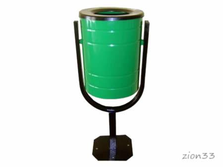 340)Урна металлическая 30 л «КСК-30»