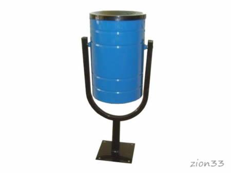 339)Урна металлическая 20 л «КСК-20»