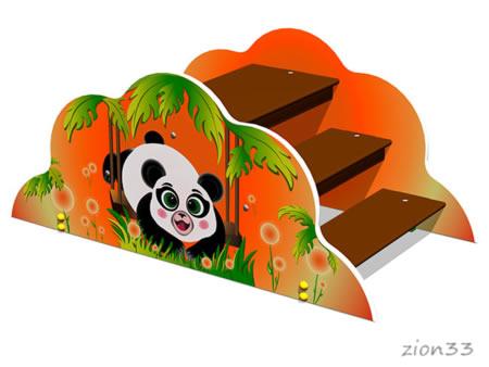 3847)Лаз «Панда»