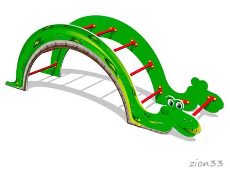3846)Лаз «Змейка»