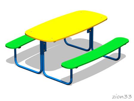 2370)Столик детский «Сити»
