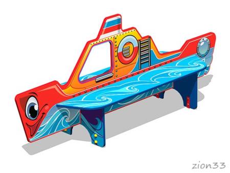 3749)Скамейка детская «Катерок У1»