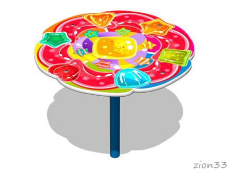 3805)Столик детский «Леденцы»