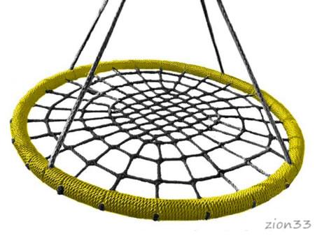 3833)Подвес качелей-гнездо «Хит 600»
