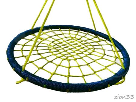 3834)Подвес качелей-гнездо «Хит 1000»