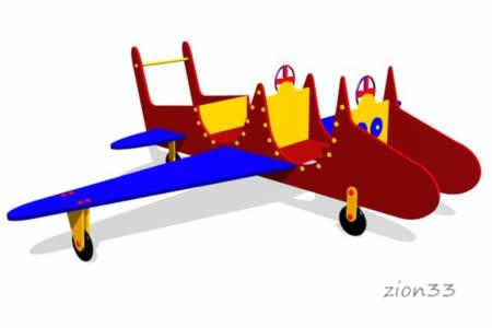 Игровой макет «Самолет» эскиз