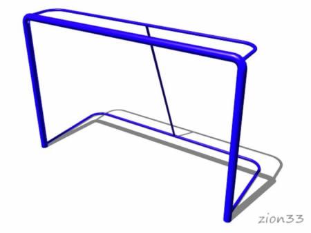 Ворота хоккейные эскиз