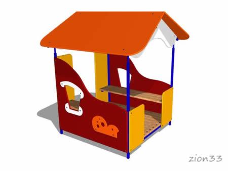 Детский игровой домик «Гном» эскиз