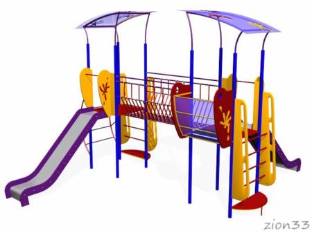Детский игровой комплекс «Мечта» эскиз