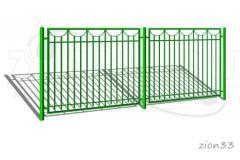 1.Забор металлический ОЗ-29