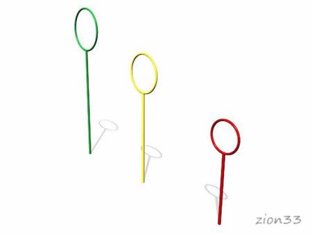 Мишень для бросания мяча «Кольца» эскиз