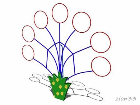 Мишень для бросания мяча «Паутинка» эскиз