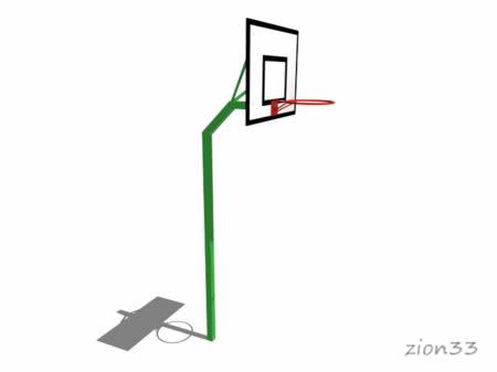 Стойка баскетбольная М1