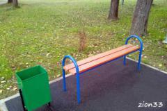 2.Скамейка парковая М19