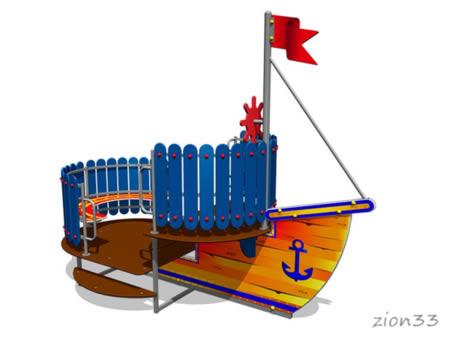 Игровой макет «Мореплаватель» эскиз