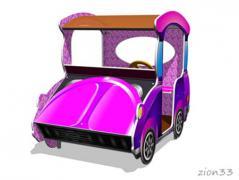 2.Игровой макет «Машинка-Жук»
