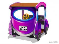 3.Игровой макет «Машинка-Жук»