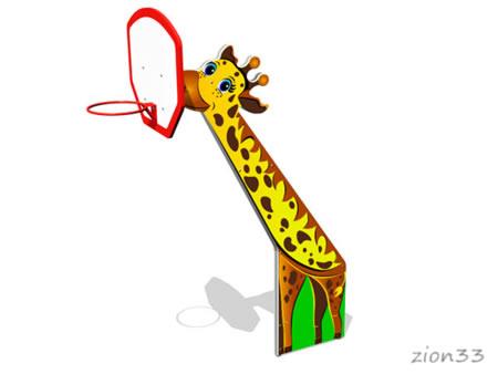 Стойка баскетбольная «Жираф» эскиз