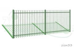 1.Забор металлический ОЗ-31