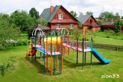 4.Детский игровой комплекс «Медовый барсук»