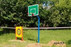 2.Стойка баскетбольная М1