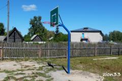 3.Стойка баскетбольная М1