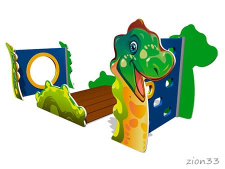 Лаз «Стегозавр» эскиз