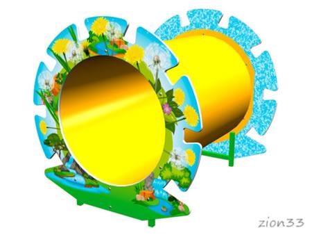 Лаз «Труба-Одуванчик» эскиз