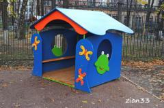 2.Детский игровой домик «Лягушка»