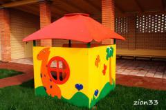 2.Детский игровой домик «Саванна»