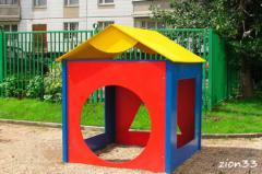 3.Детский игровой домик «Геометрия»